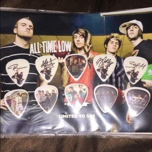 All Time Low 'Limited edition' guitar picks
